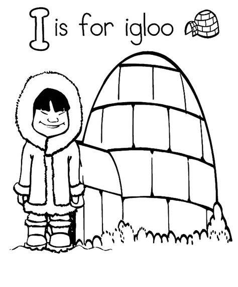 coloring page for igloo igloo 64 buildings and architecture printable