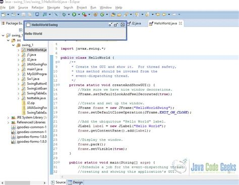 section 263a exle java swing exles 28 images swing data binding exle