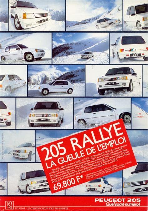 peugeot car garage 21 best 205 rallye images on pinterest cars rally car