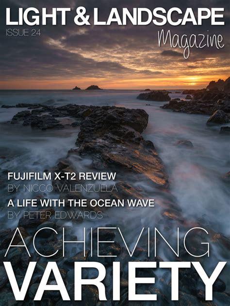 light landscape digital photography magazine on the app
