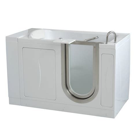ella bathtub ella companion two seat 5 ft x 30 in acrylic walk in