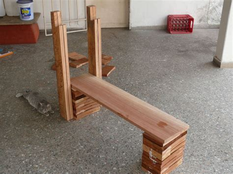 homemade weights bench wooden bench press design pdf woodworking