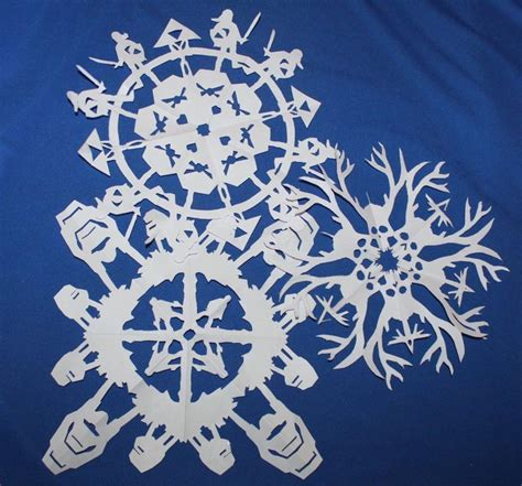geeky snowflake patterns 25 best images about apartment holiday decor on pinterest
