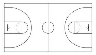 Outdoor Basketball Court Template by Basketball Plays Diagrams Basketball Court Diagram And