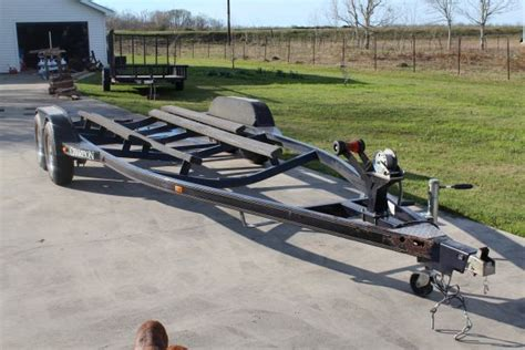 boat trailer parts bass pro dual axle chion bass boat trailer for sale or trade