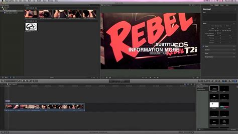 final cut pro how to add text how to insert text and titles final cut pro x youtube