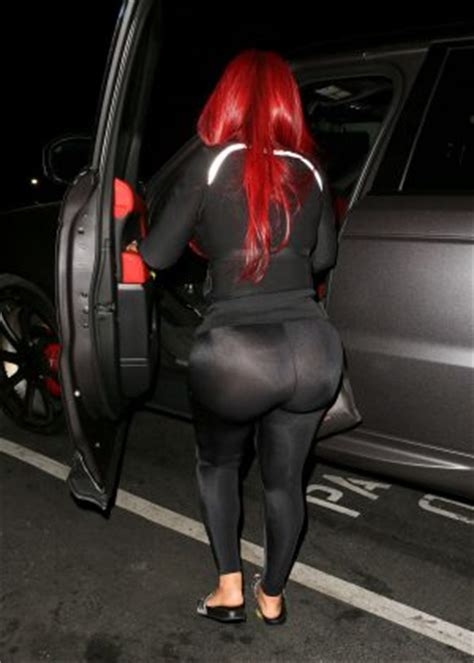 blac chyna tights blac chyna in tights at busby s in hollywood