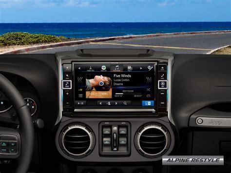 Jeep Navigation System Alpine Jeep Navigation System Completes Your Wrangler
