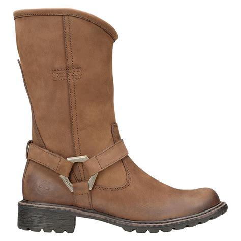 womens ankle biker boots timberland ek stoddard mid wp biker boots s boots