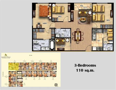 House Design Floor Plan Philippines marco polo park view residences for sale in cebu city