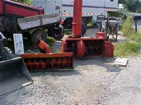 Blower 853 Preheather Original used farm tractors for sale snow blower 2003 08 14 tractorshed