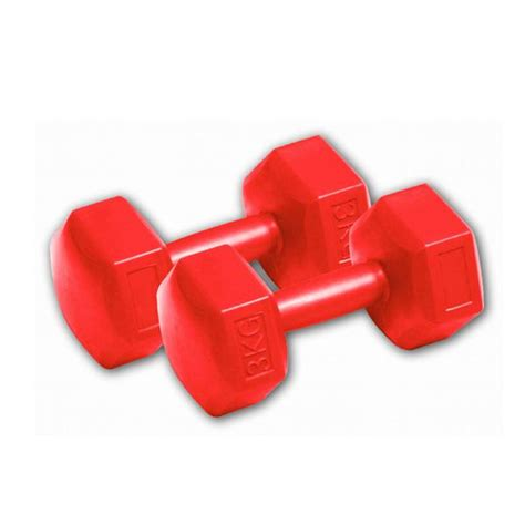 Dumbbell 3 Kg dynamic 3 kg vinyl dumbbell