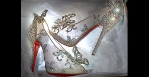 real glass slippers wedding shoes dsw glass slipper collection is here weddingbee