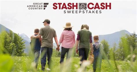Gactv Sweepstakes - great american country 25k stash of cash sweepstakes