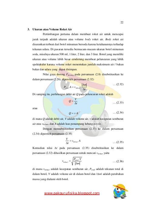 membuat makalah fisika makalah seminar fisika roket air
