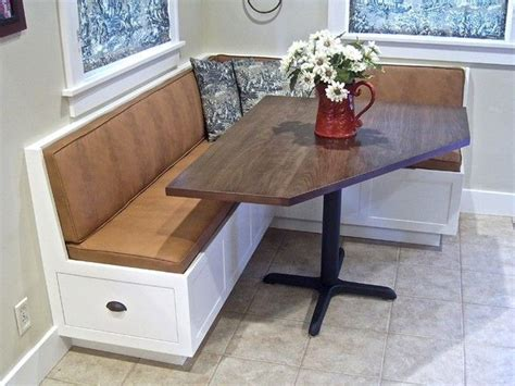 kitchen table with storage bench corner kitchen table with storage bench florist h g