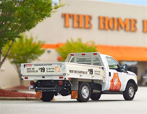 truck rentals tool rental the home depot