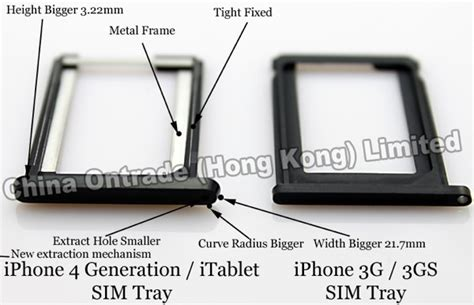 Simtray Sim Tray Tempat Simcard Iphone 4 4g 4s iphone 4g rumors begin we sim card tray imore