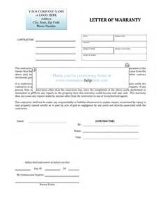 Warranty Certification Letter Printable Warranty Templates For Pinterest