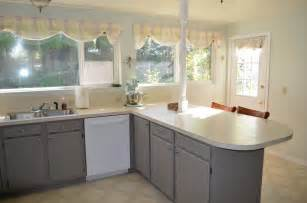 Best Way To Paint Kitchen Cabinets White by How To Paint Non Wood Kitchen Cabinets Kitchen