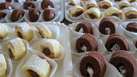 le ricette di casa rotolini dolci da buffet ricetta facile di benedetta per
