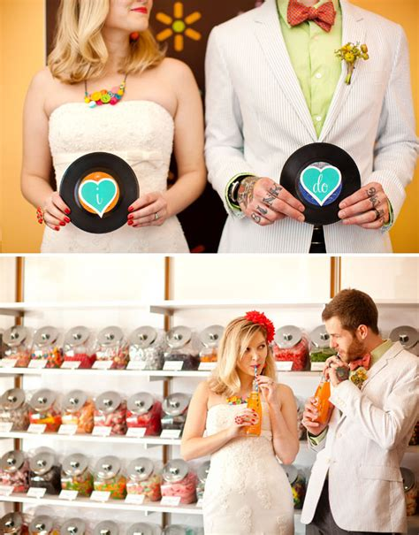 retro wedding ideas from the shop