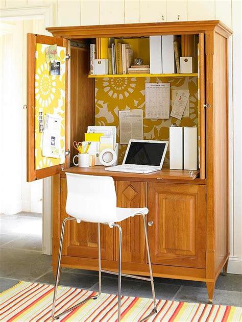 transformer une armoire en bureau gain de place cr 233 ez votre bureau dans une armoire
