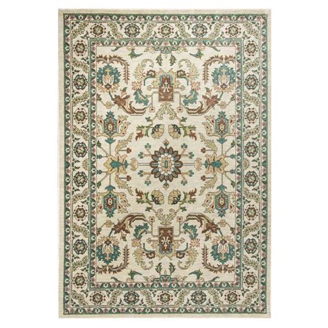 7 X 11 Area Rugs by Kas Rugs Exquisite Serapi Ivory 7 Ft 10 In X 11 Ft 2 In