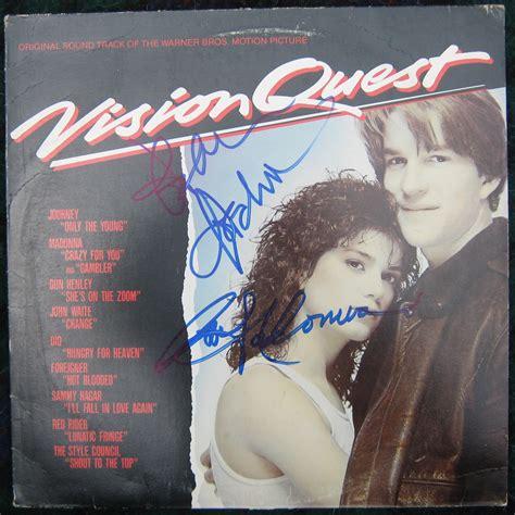 foreigner movie soundtrack madonna lou gramm signed quot vision quest quot soundtrack lp