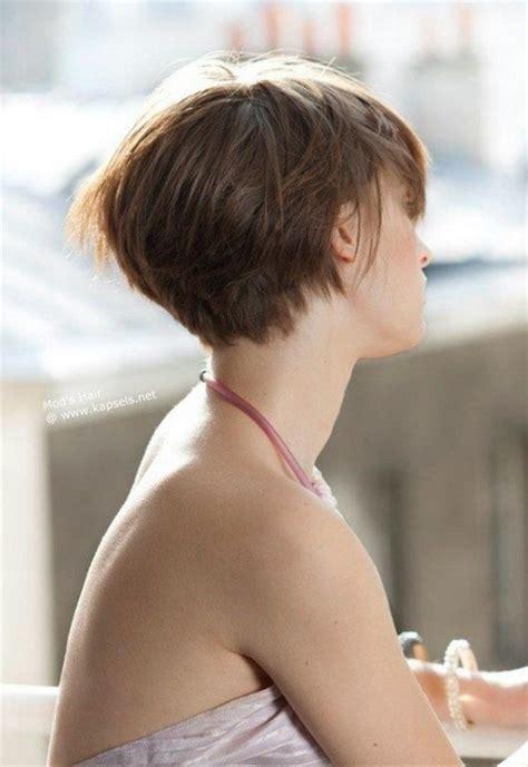 2015 angeled short wedge hair boblijn kapsels achterkant