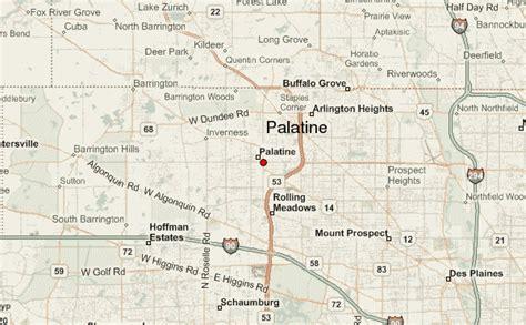 map of palatine illinois palatine location guide