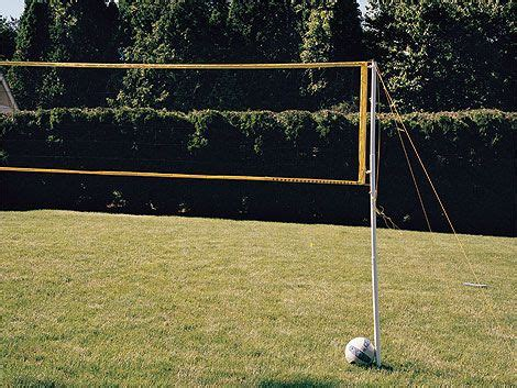 volleyball net backyard diy backyard volleyball outdoor projects and ideas