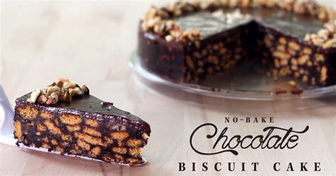 chocolate biscuit cake travel down the memory lane with this no bake chocolate