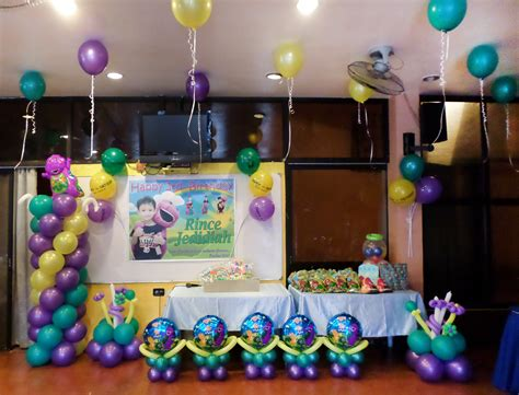 barney cebu balloons  party supplies