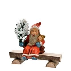 Minil Santaklaus miniature santa claus tiny german santa marolin