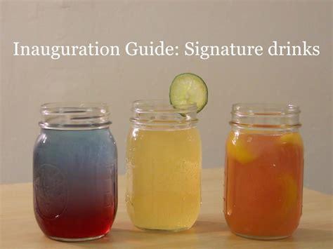 inauguration guide signature drinks gw hatchet