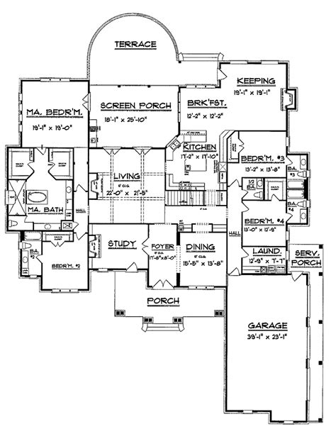vacation home floor plans dickerson creek rustic home plan 024s 0026 house plans and more