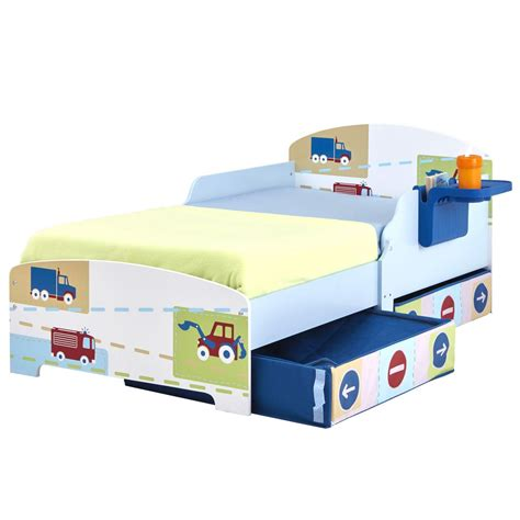 Character Disney Junior Toddler Beds With Storage Character Beds
