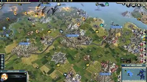 america map civ 5 civilization v nuclear war america vs