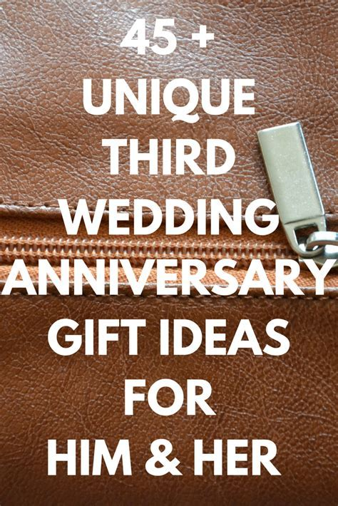 Best Leather Anniversary Gifts Ideas for Him and Her: 45