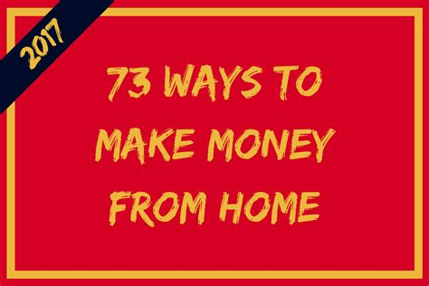 make money from home make money anywhere