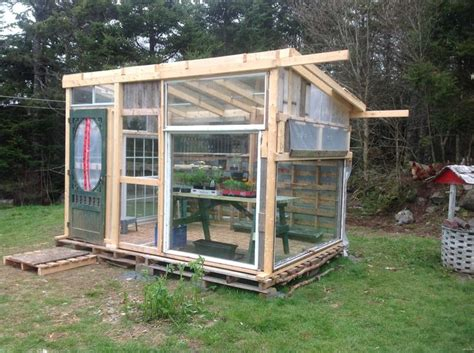 green house window greenhouse from pallets and old windows gardening pinterest pallets greenhouses