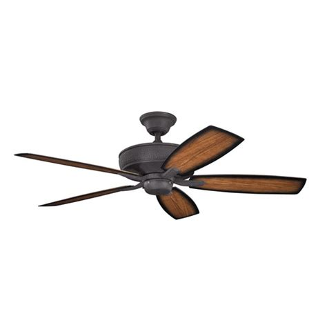 kichler 52 quot monarch ii 5 blade patio ceiling fan reviews