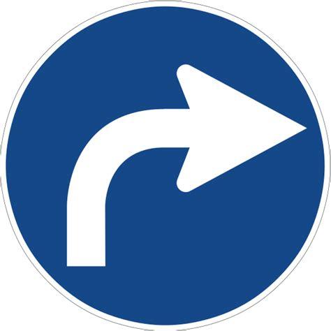 file us 209 svg wikimedia commons file zeichen 209 vorgeschriebene fahrtrichtung rechts