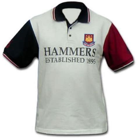 Polo Shirt West Ham United Harmony Merch west ham polo shirt west ham united shirt hammers west ham crest shirt