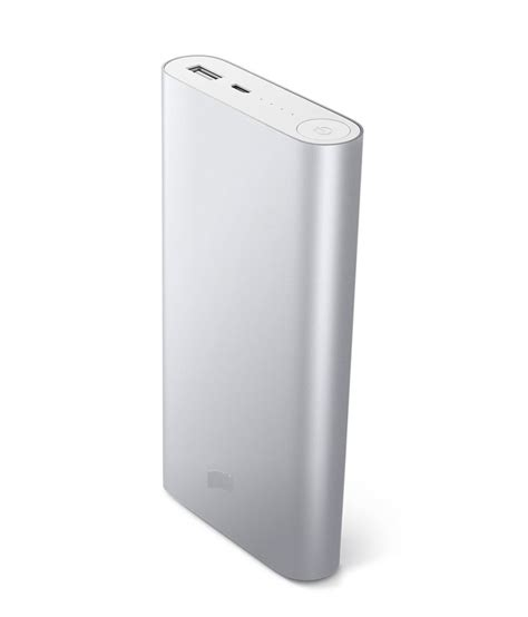 Power Bank Dsbc cloud mi power bank 20800mah silver with power stabaliser
