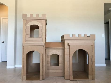 How To Make A Castle Out Of Cardboard And Paper - 25 b 228 sta cardboard castle id 233 erna p 229