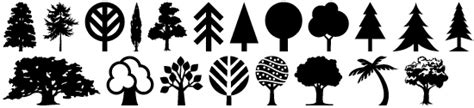 tree symbol font gerald gallo fonts