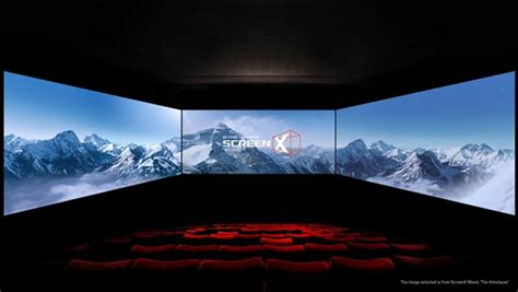 cgv film screenx first launched in vietnam new release movie