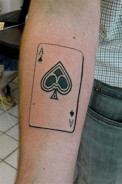 what does a spade tattoo mean ace of spades designs and meanings